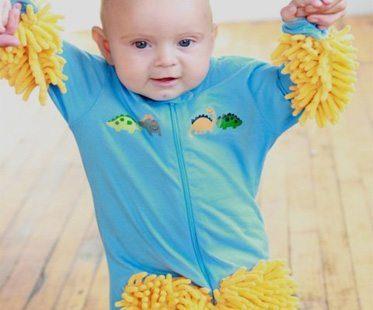BABY-MOP-ONESIE