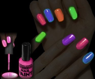Glowing Nail Polish