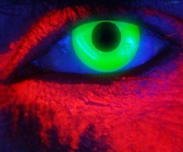 Green Contact Lense