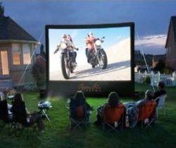 Backyard Theatre System