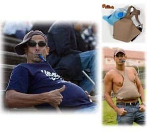 Beer Belly Drinking Sack