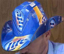 Beer Box Hat