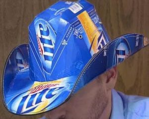 Beer Box Hat