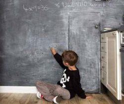 Paint On Chalkboard