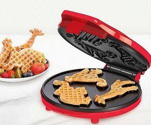 Circus Shapes Waffle Maker
