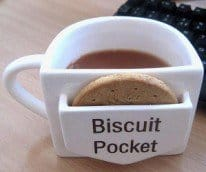 Mug With Biscuit Pocket