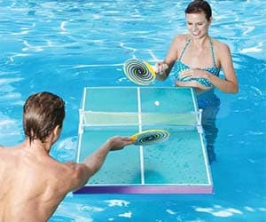 Floating Ping Pong Table