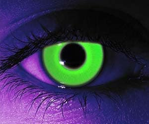Rave Green Contact Lenses