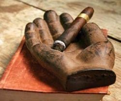 Iron Hand Ashtray