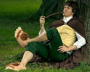 Hobbits Feet Slippers