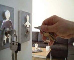 Couple Human Key Holders