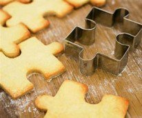 Jigsaw Puzzle Cookie Cutter