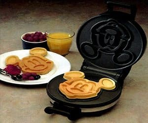 mickey mouse waffle maker. Black Bedroom Furniture Sets. Home Design Ideas