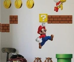 super mario decals