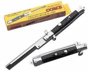 Switch Blade Pocket Comb
