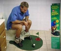 Toilet Mini Golf