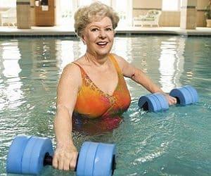 water resistant dumbbells
