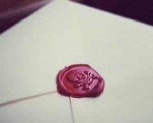 skull wax seal stamper