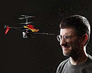 RC Helicopter With Water Cannon