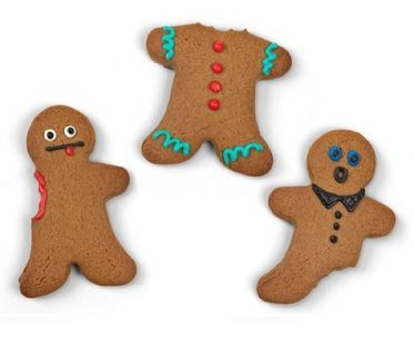 Chewed Gingerbreadmen Cookies