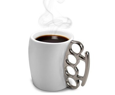 Fisticup Knuckleduster Mug