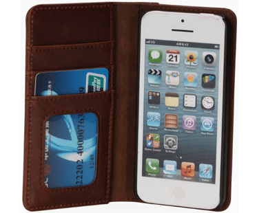 IPHONE-LEATHER-BOOKCASE