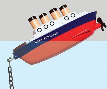 TITANIC-BATH-PLUG