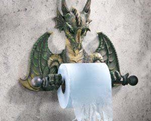 Dragon Toilet Paper Holder