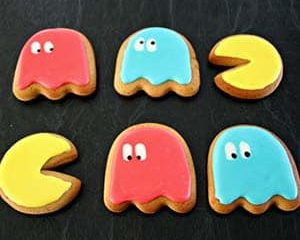 Pac-Man Cookie Cutters