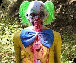 Zombie Clown Target