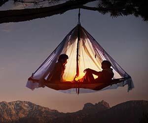 Hanging tent platform for Tent platform plans