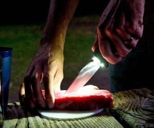 LED Tactical Knife