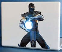 Sub Zero Macbook Sticker