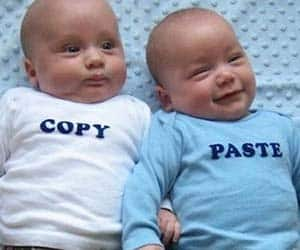 Copy And Paste Twin Shirts