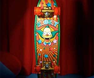 krusty the clown skateboard