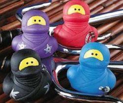 Ninja Rubber Ducks