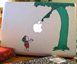 The Giving Tree Mackbook Sticker