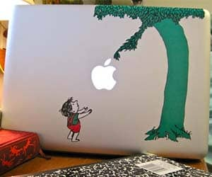 The Giving Tree Mackbook Sticker