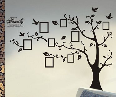 Family Trees Decal