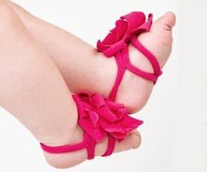 Baby Barefoot Petals