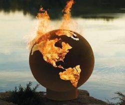 Fire Pit Globe