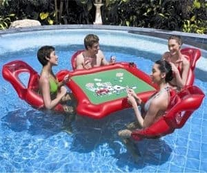 Inflatable Poker Table