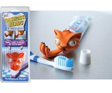 Cat Toothpaste Cap