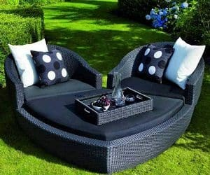 Heart Shaped Daybed