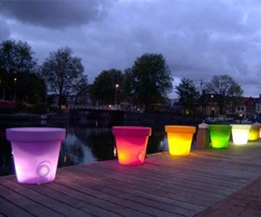 LED-PLANT-POT