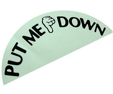 PUT-ME-DOWN-STICKERS