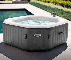 inflatable outdoor hot tub