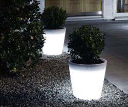 LED Plant Pot