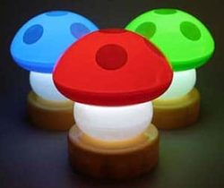 Mini Mushroom Night Light