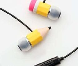 Pencil Headphones